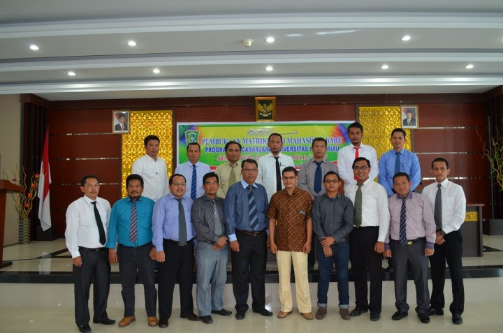Matrikulasi S2 Teknik Sipil TA. 2016/2017 Ganjil