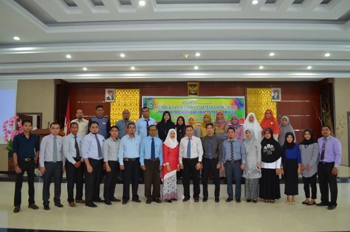 Matrikulasi S2 Ilmu Administrasi TA.2016/2017 Ganjil