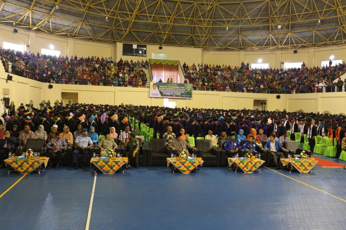 Wisuda Universitas Islam Riau Periode II 2015