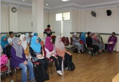 Kunjungan mahasiswa Malaysia ke Fakultas Psikologi Universitas Islam