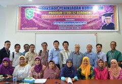 Workshop Peninjauan Kurikulum Prodi Magister