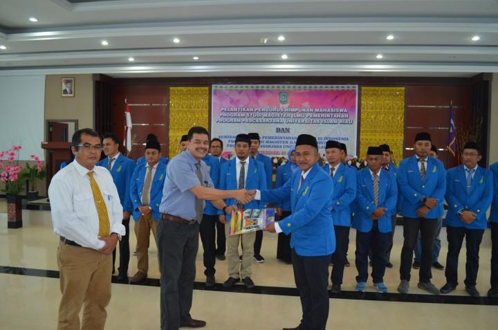 Pelantikan Pengurus Himpunan Mhs Magister Ilmu Pemerintahan PPs UIR