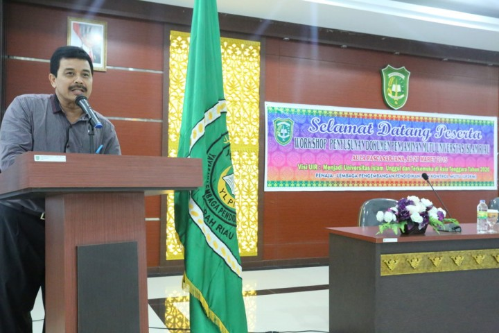 Workshop Penulisan Penjaminan Mutu Universitas Islam Riau