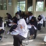 Mahasiswa FAI Sedang Melaksanakan Ujian