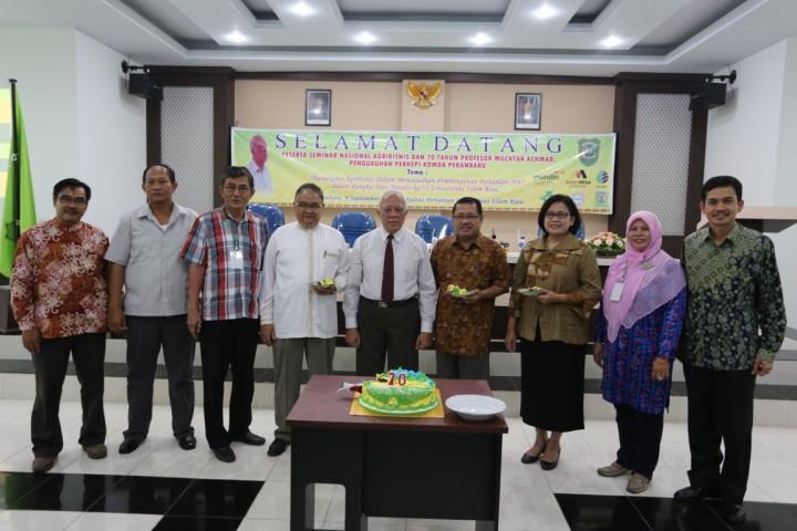Seminar Nasional Kegiatan Dies Natalis UIR yang Ke 53