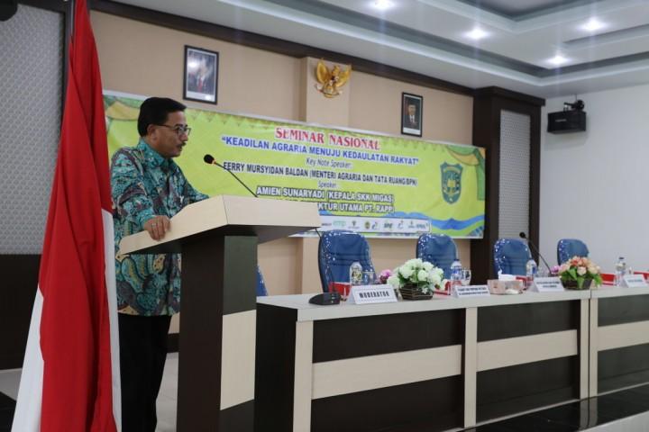 Seminar Bersama Mentri Agraria dan Tata Ruang Ferry MB